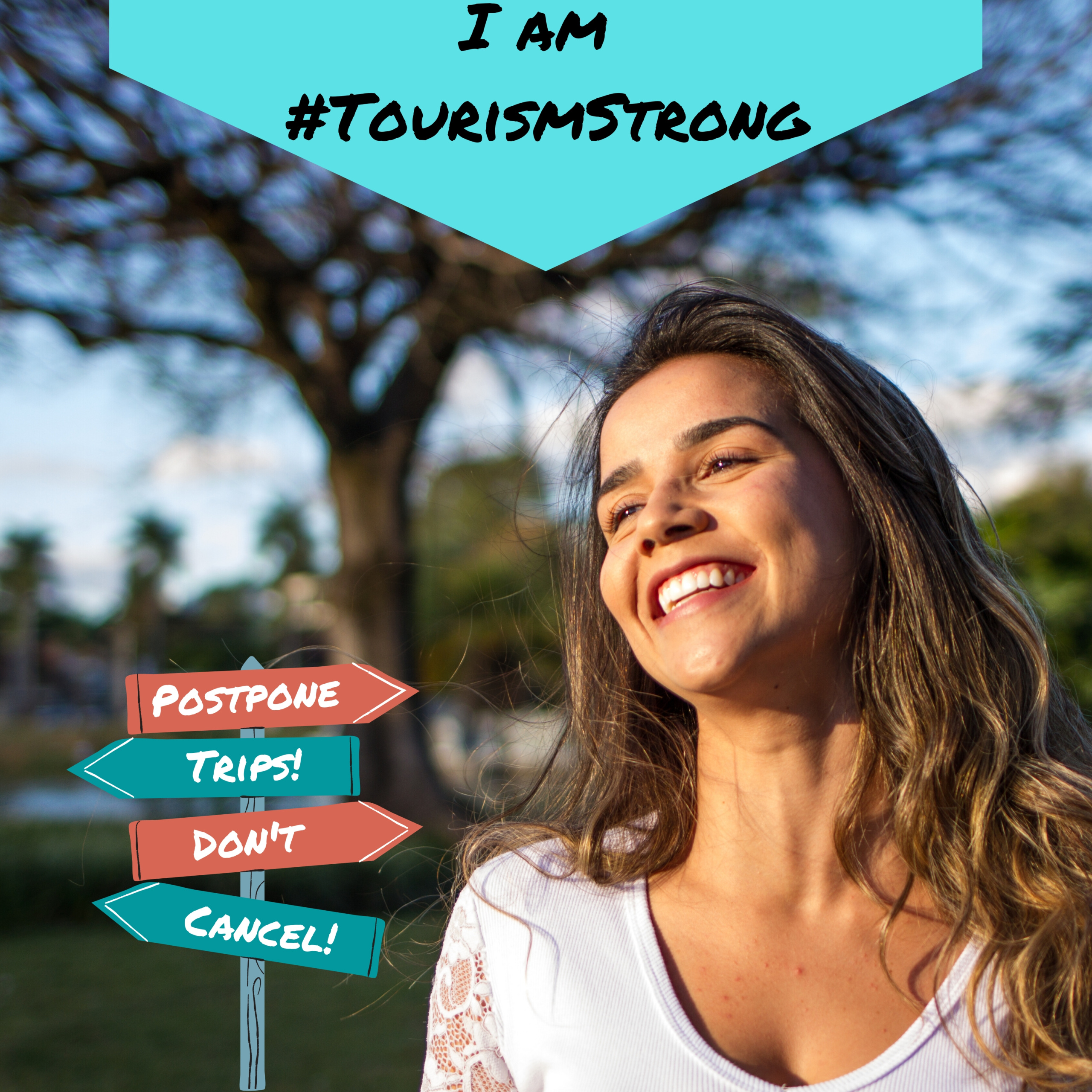 tourism strong profile pic frame